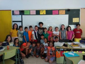 La Teua Ràdio visita els alumnes de cinqué del col·legi Azorín Miscel·lània
