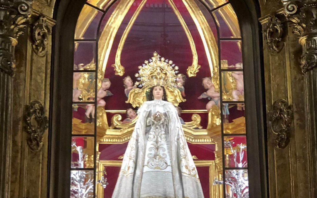 La Germandat monovera del Crist i l'Esperança participarà en l'Ofrena de Flors i Fruits en honor a la Mare de Déu del Remei Monòver en Festes