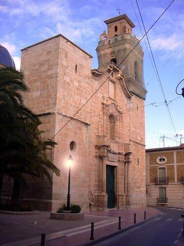 El Duc d'Híjar visita l'Església Parroquial de Monòver Història Local