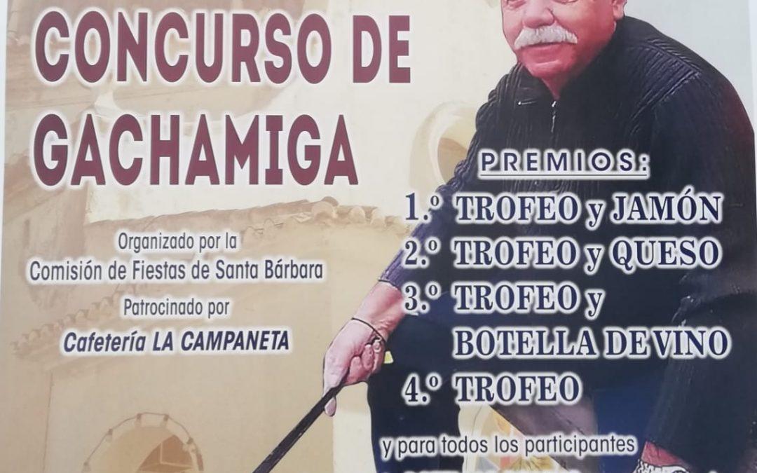 Quart Concurs de Gatxamiga Festes de Santa Bàrbara Monòver en festes