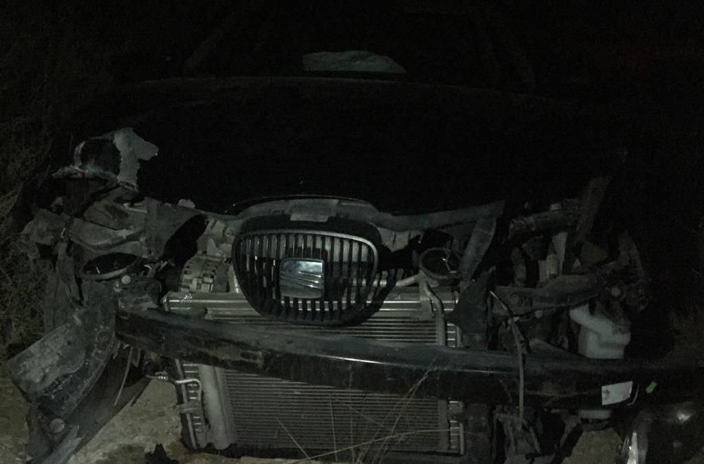 Un cotxe té un accident durant la matinada en Monòver i els ocupants fugen corrents Successos