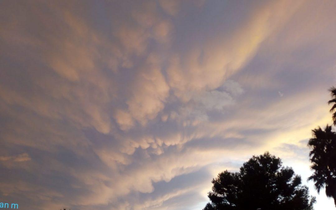 Predicció meteorològica de Monòver i comarca per als pròxims dies Oratge