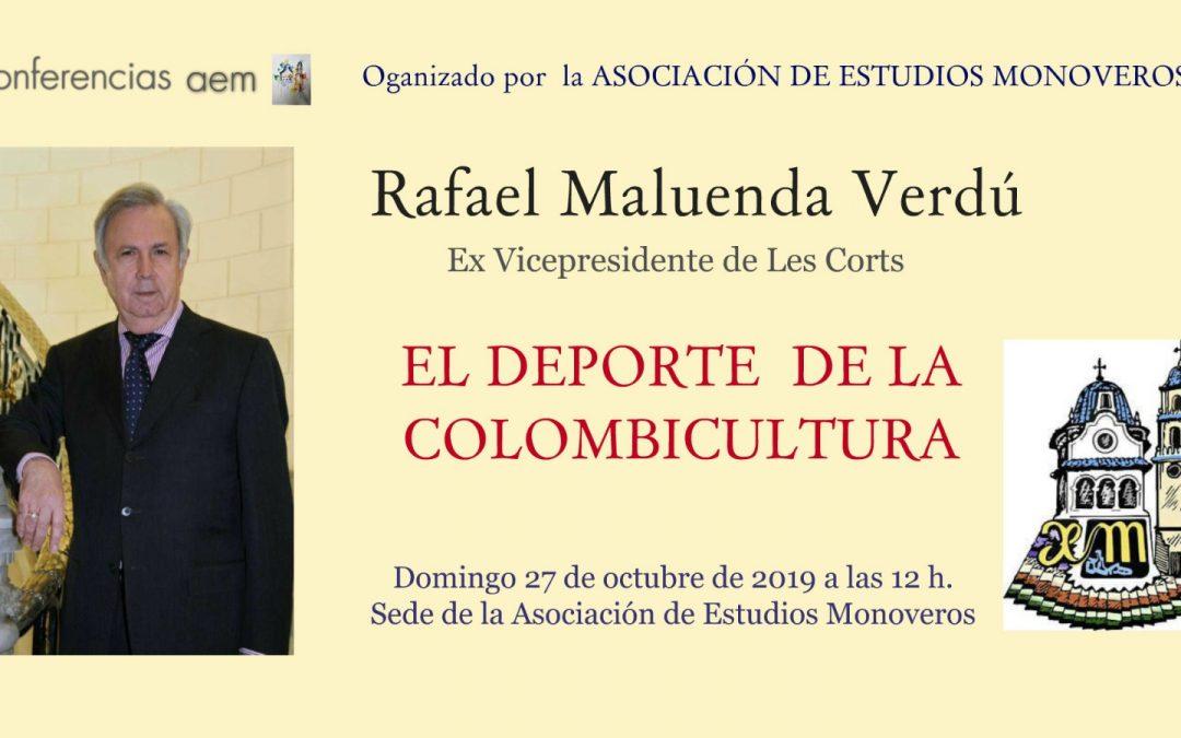 L'Associació d'Estudis Monovers inicia la Tardor Cultural amb una conferència de Rafael Maluenda Monòver