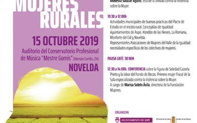 Novelda acogerá una jornada de trabajo para conmemorar el Día Internacional de las Mujeres Rurales Notícies de proximitat