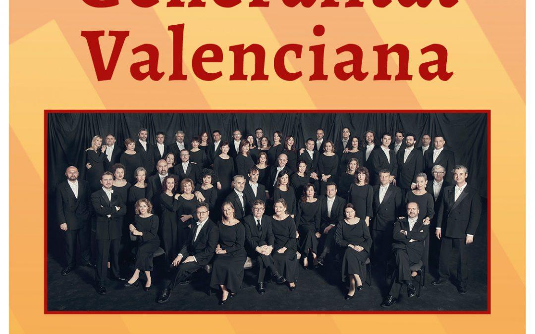El Teatre Principal acollirà demà el concert del Cor de la Generalitat Valenciana Cultura - Monòver