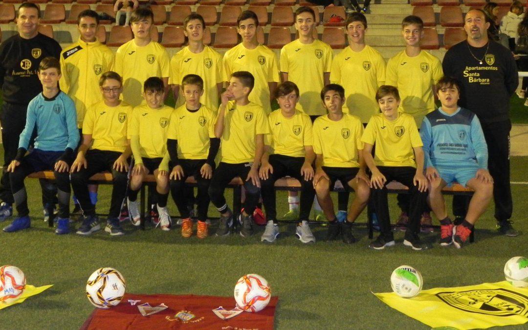 dechics patrocinará a los chicos del equipo infantil del Monóvar Atlético Empreses - Esports