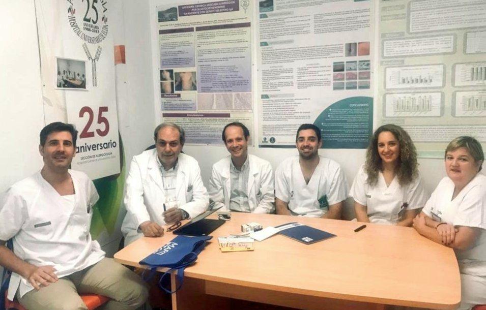 """La Unidad de Asma Grave de Alergología del Hospital de Elda, acreditada como """"Excelente"""" Altres notícies"""