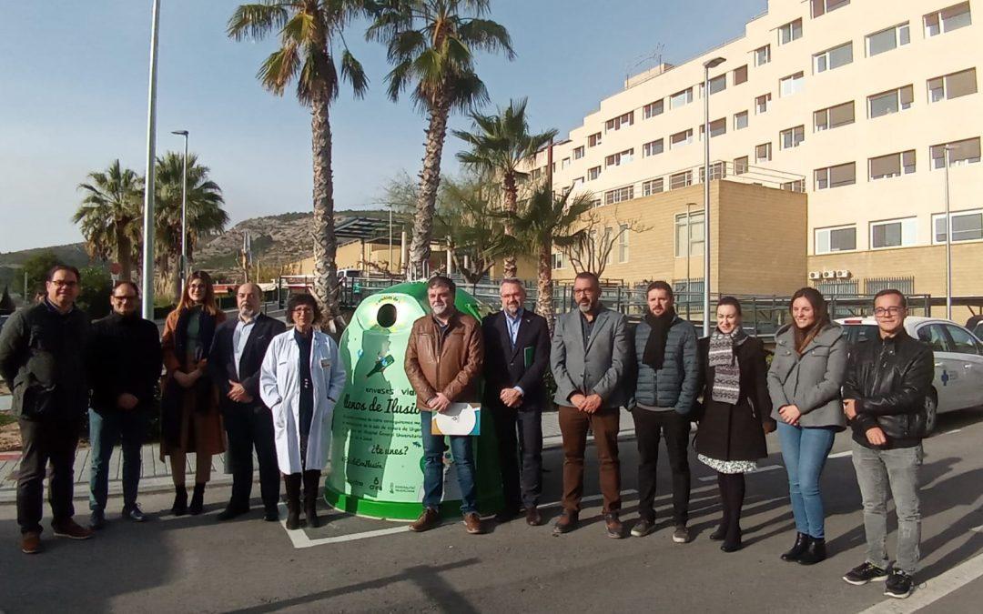 Los 14 municipios del Consorcio Crea consiguen superar el reto de la campaña 'Llenos de Ilusión' tras incrementar la tasa de reciclaje de vidrio Natura