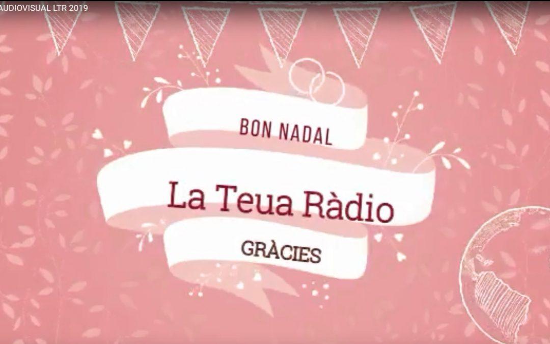 """L'Equip de La Teua Ràdio ha preparat un video amb una felicitació """"molt especial"""" BONES FESTES"""