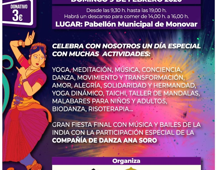 Fundació Dharma i Bhakty Love Festival organitzen un esdeveniment solidari al Pavelló de Monòver Altres notícies