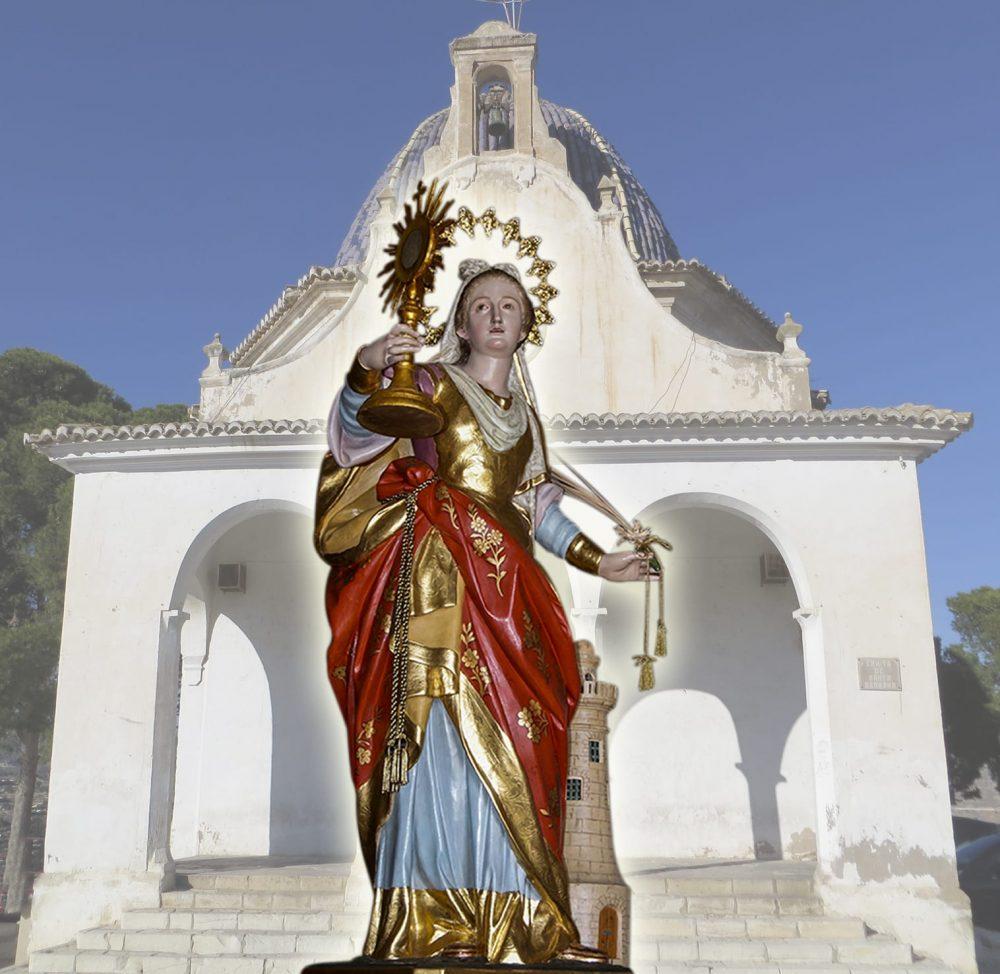 Tornen les visites dominicals a Santa Barbara Monòver