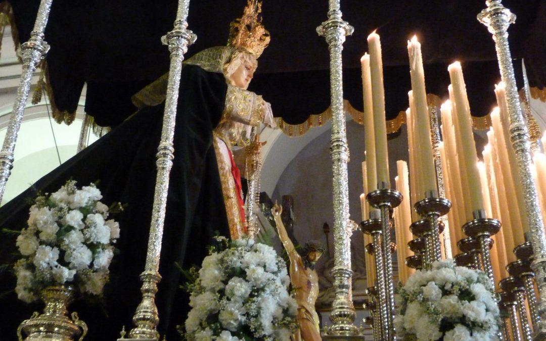 Dijous Sant – Processó del Silenci: Santíssim Crist Crucifixat i Maria Santíssima de l'Esperança Notícia destacada