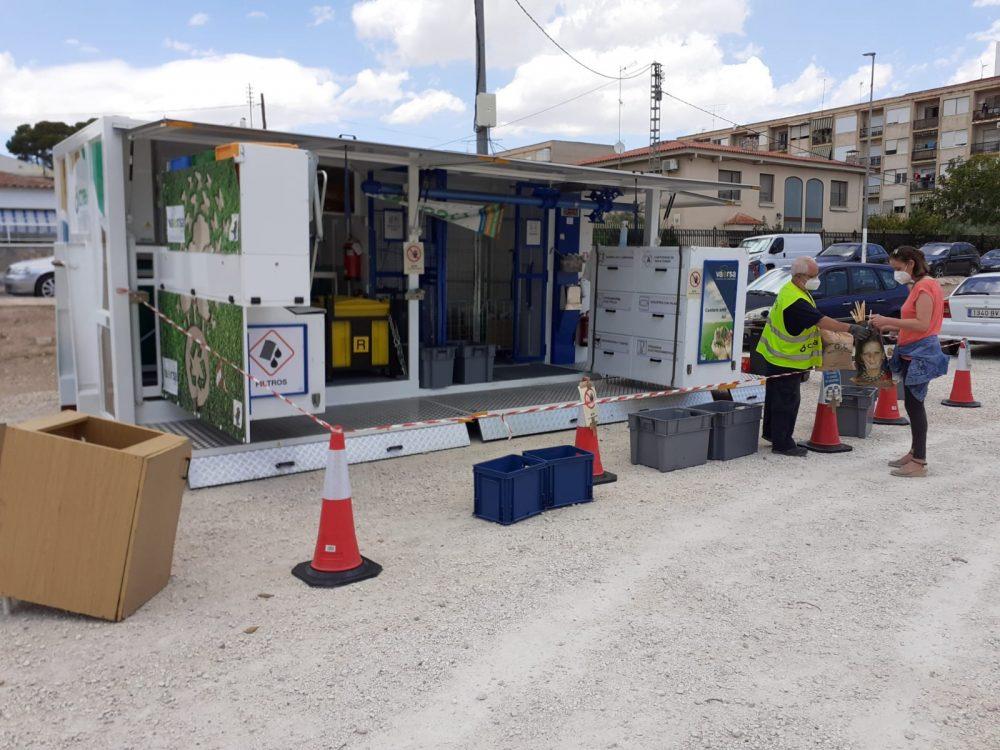 L'Ecoparc Mòbil s'instal·larà demà a Monòver, com cada dimecres Notícia destacada