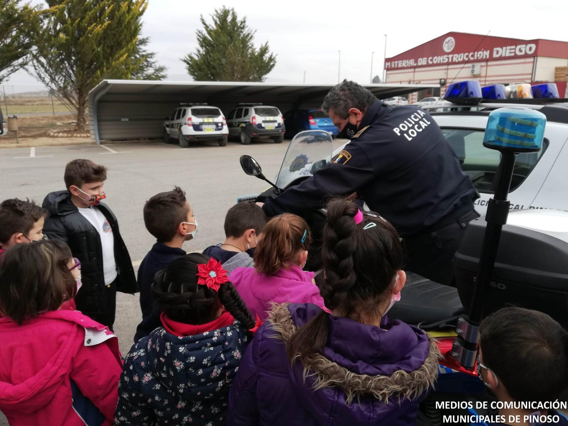 Es reprenen les visites escolars als serveis municipals del Pinós Notícies del Pinós - #ElPinós